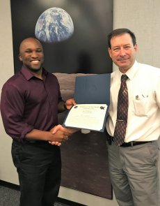 NASA JSC CX4 Employee of the Month, September 2018